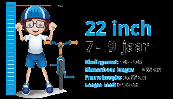 Kinderfietsen 22 inch