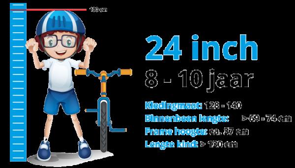 Kinderfietsen 24 inch