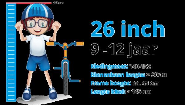 Kinderfietsen 26 inch